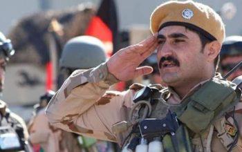 فرمانده قطعه خاص عملیاتی پولیس هرات در شلیک اشتباهی جان باخت