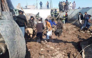 سه کشته و یک زخمی در نتیجه فروریختن سقف یک سنوکرکلپ در جلال آباد