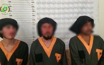 یک شبکه وابسته به طالبان در لغمان بازداشت شد