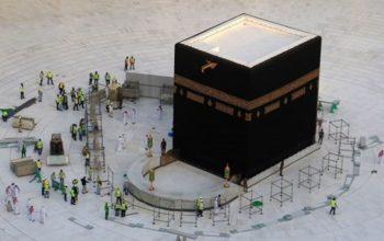 مسجدالحرام به روی زائرین باز شد