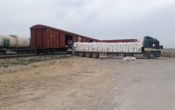 بیش از 130واگون مواد خوراکی وارد افغانستان شد