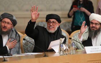 هیئت طالبان وارد کابل شد