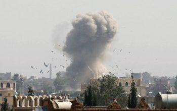 غرب یمن، زیر بمباران ائتلاف سعودی