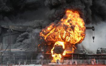 38 کارگرِ کوریای جنوبی در آتش سوختند