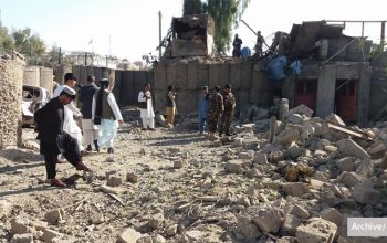 حمله انتحاری طالبان در گرشکِ هلمند
