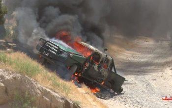 دو پولیس در انفجار لغمان کشته شد
