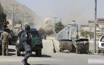 انفجارهای پیهم در کابل