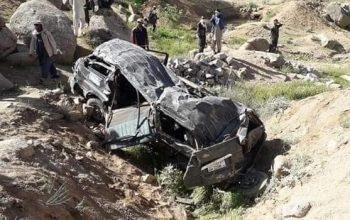 شش کشته در حادثه ترافیکی در دایکندی
