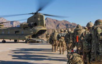 نیروهای امریکایی افغانستان را ترک می کنند