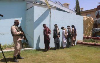پنج مجرم مسلح در زابل بازداشت شد