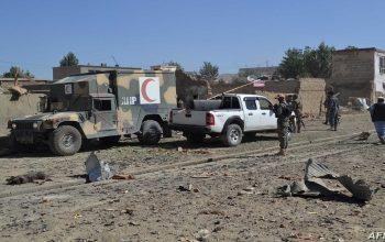 هفت کشته و ۴۰ زخمی در حمله موتربم در غزنی
