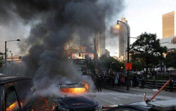 یک سیاه پوست از سوی پولیس امریکا کشته شد؛ اعتراضات گسترده