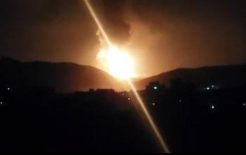 یک تانکر گاز در هرات انفجار کرد