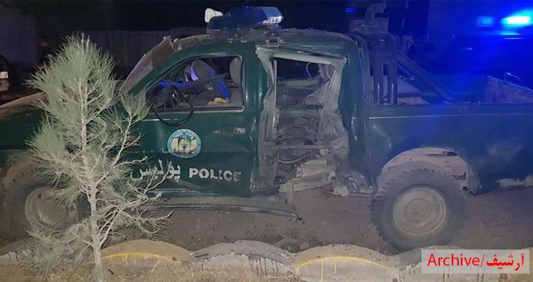 در انفجار غزنی، فرمانده پولیس ولسوالی ده یک کشته شد