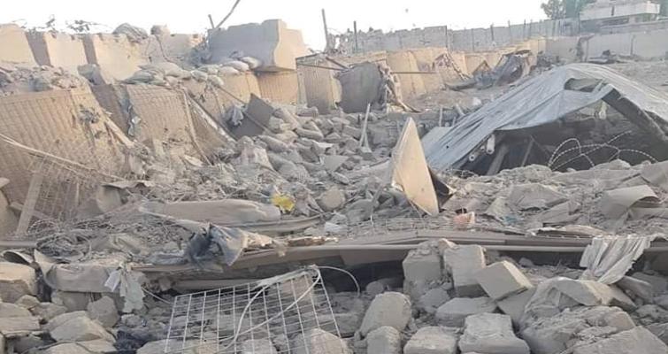 یک موتربم، ساختمان ولسوالی شاه ولی کوت قندهار را هدف قرار داد