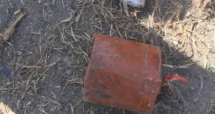 یک ماین در کابل کشف شد