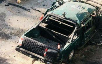 دو تن در انفجار کابل زخم برداشت