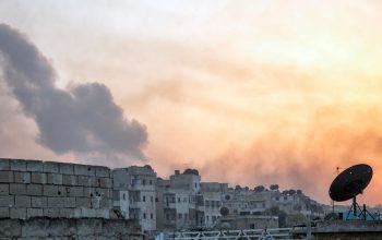 حومه حلب هدف حمله هوایی قرار گرفت
