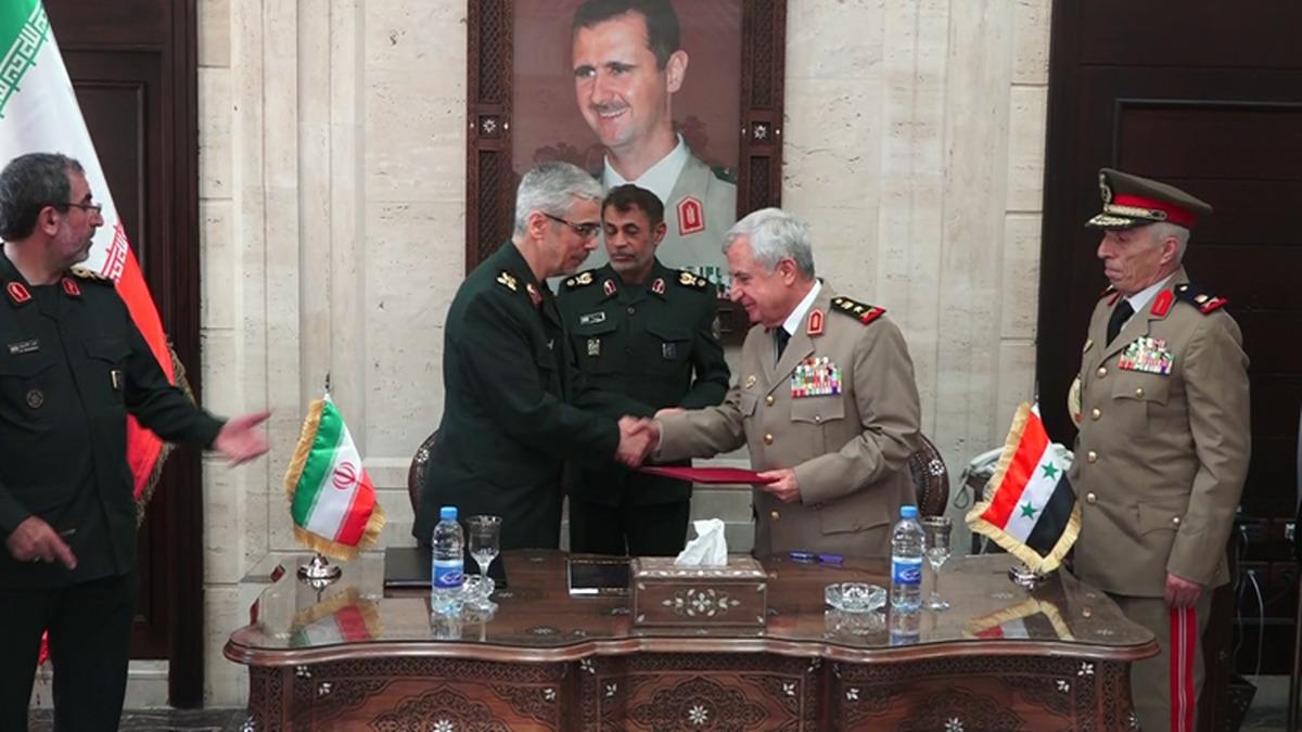 ایران و سوریه توافقنامه همکاری امضا کردند