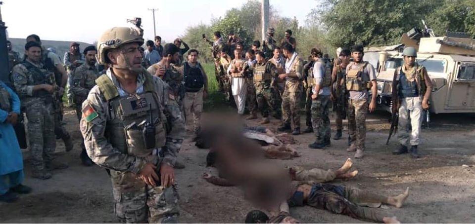 تلفات سنگین طالبان در تخار