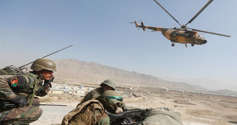 حمله هوایی بر مواضع طالبان در قندهار