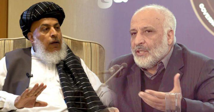 معصوم ستانکزی و عباس ستانکزی رهبران هیئت گفتگوکننده صلح هستند