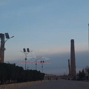 نگرانی نسبت به فروریزی یکی از مناره های هرات