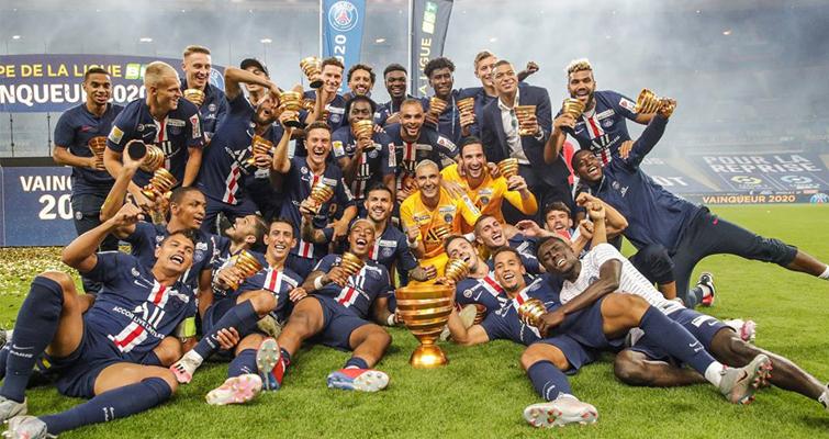 پاری سن ژرمن، قهرمان جام اتحادیه فرانسه شد