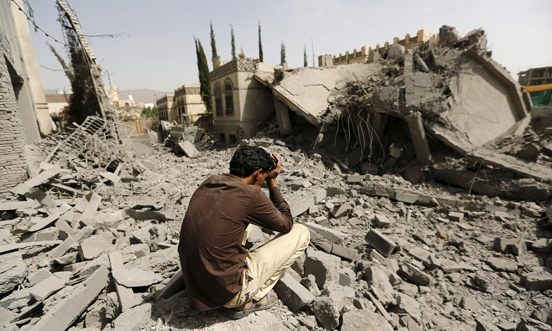 از نخستین حمله ائتلاف سعودی به یمن، دو هزار روز می گذرد