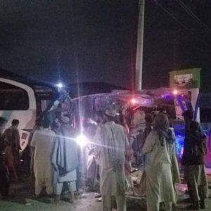 حادثه مرگبار ترافیکی در پغمان، ۷۷ تن کشته و زخمی شدند