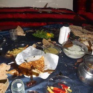 افطار خونین در لوگر